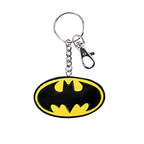 DC Comics Batman Official Flexible Rubber Logo Keyring