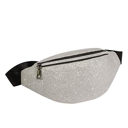 Pailletten-hobo Handtasche (Mode Frauen Bling Pailletten Umhängetasche Messenger Bag Brusttasche Zolimx)