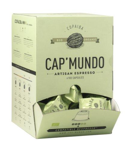 Cap Mundo COPAIBA 100 Cápsulas Café Organico Compatible Nespresso