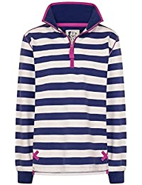 Lazy Jacks Super Soft Striped 1/4 Zip Sweatshirt LJ35