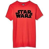 Lucas Boy's Starwars T-Shirt, Red, 11-12 Years