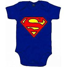 Body bebé Superman logo