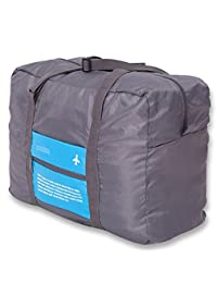 Glive Lightweight Nylon Foldable Packable Travel Handbag Shoulder Organizer (Multicolour)