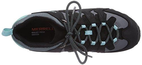 Merrell - Cham Shift Vent, Scarpe Da Trekking da donna Multicolore (Mehrfarbig (BLK/ADVENTURINE))