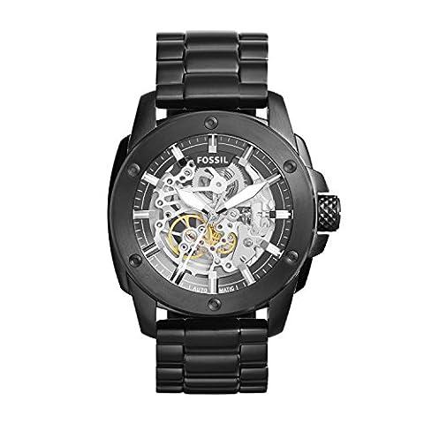 Fossil Herren-Uhren ME3080 (Herren Fossil Skelett)