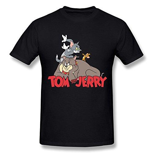 (YungGoo T-shirt  Herren T-Shirt Gr. xl, Schwarz - Schwarz)