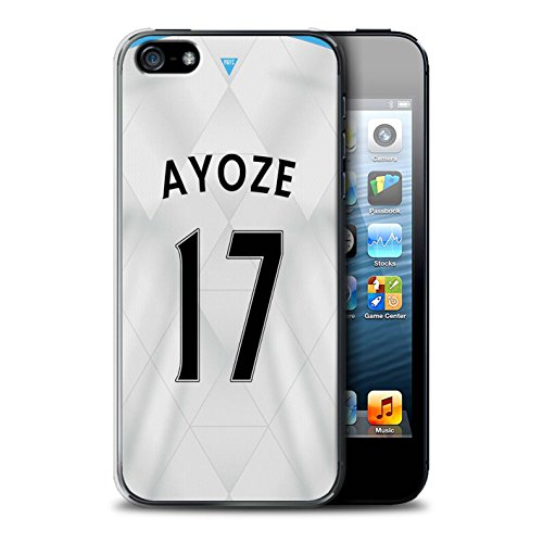 Offiziell Newcastle United FC Hülle / Case für Apple iPhone 5/5S / Colback Muster / NUFC Trikot Away 15/16 Kollektion Ayoze