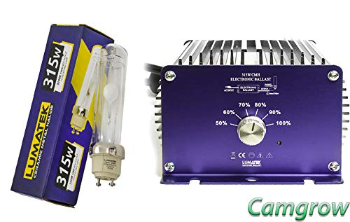 Lumatek 315w CMH Ceramic Metal Halide Dimmable Ballast & Bulb