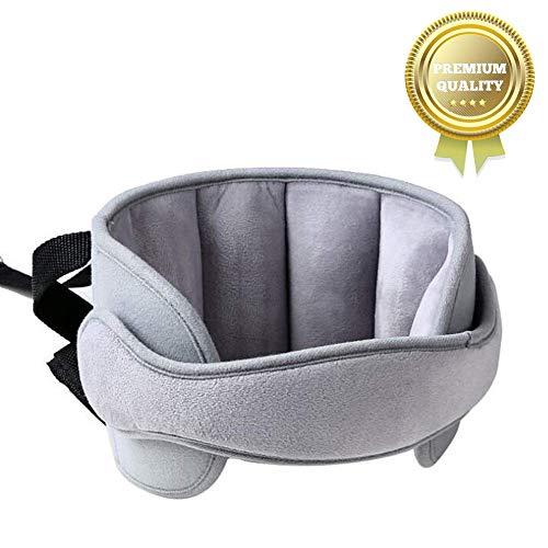Einstellbare Schlaf Stellungsregler,Kindersitz Befestigung,Kindersitz Kopfband,Autositz Kopfband,Verstellbarer Kopfstützgurt (Grau) (Auto-kindersitz Und Kinderwagen)