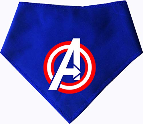 Spoilt Rotten Pets Avengers Agents of Shield Endgame S Dog Bandana Fancy Dress Cape for Tony Stark Superhero Dogs