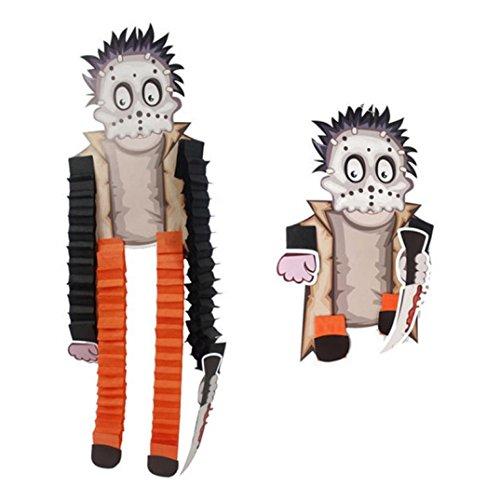 xe-Skelett-hängendes Papier/Mach Mehr lustig Mehr Real/Fashion Home Party Hängende Dekoration (E) (Top 10 Halloween-film-zeichen)