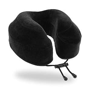 Cabeau Evolution Memory Foam Reise Nackenkissen - Das beste Reisekissen mit 360 Kopf, Hals und Kinn Unterstützung, schwarz