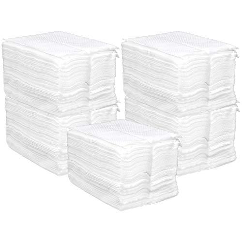 COM-FOUR® 500x Papier-Servietten als Nachfüllpack für Serviettenspender (05 Stück - Servietten-Nachfüllpack)