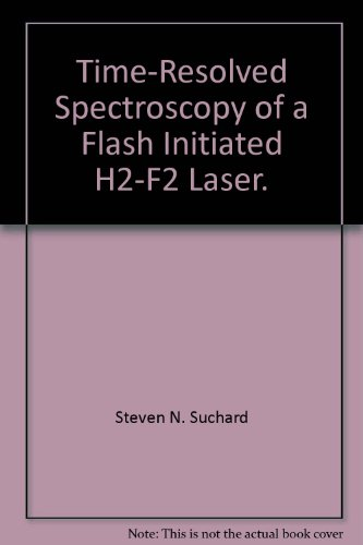 Time-Resolved Spectroscopy of a Flash Initiated H2-F2 Laser. F2 Flash