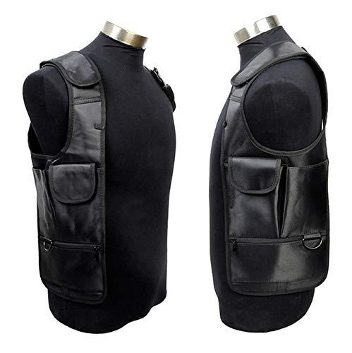 Gexgune Männer Unterarm Schulter Achseltasche rechts Links Hand Taktische Zubehör Tasche Burglarproof Sicherheit Strap Messenger Taschen (rechtshändig) -