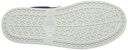 Crocs Citilnslpsnkrm, Scarpe da Ginnastica Uomo Blu (Navy/white)