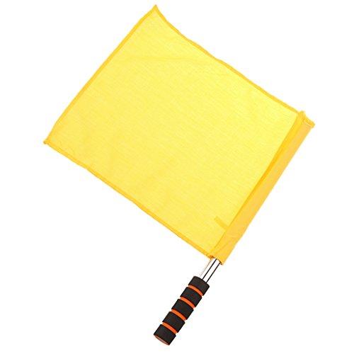 Schiedsrichterausrüstung Schiedsrichter Fußball Hocky Lineman Flagge Fahne Wettbewerb Flagge - Gelb