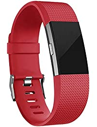 fd8f3628f House of Quirk Replacement Bands Compatible for Fitbit Charge 2, Classic &  Special Edition Adjustable
