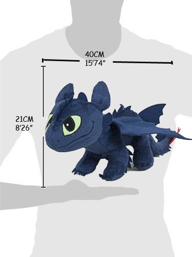 Toothless Toy like Train your Dragon 40cm