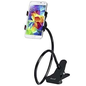 WANGSCANIS Flexible 360 degrés de rotation à long Phone Holder Arms Cell Phone Holder Universal Smartphone Car Mount col de cygne Clamp Lazy support mobile Stand