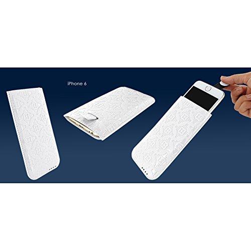 Piel Frama 680DB PIELFRAMA 680DB Pull Case für Apple iPhone 6 in blau bianco