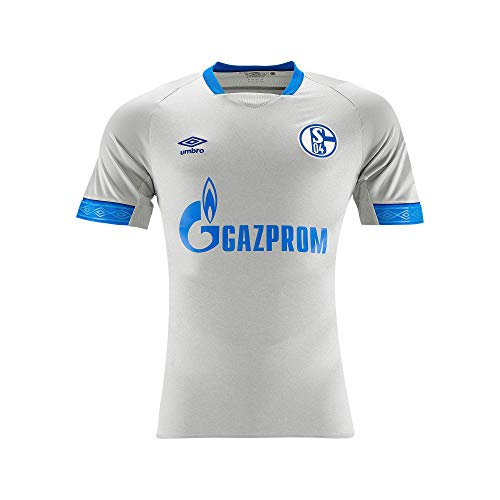 FC Schalke 04Umbro Trikot Away 18/19, Gris/Azul, Extra-Large