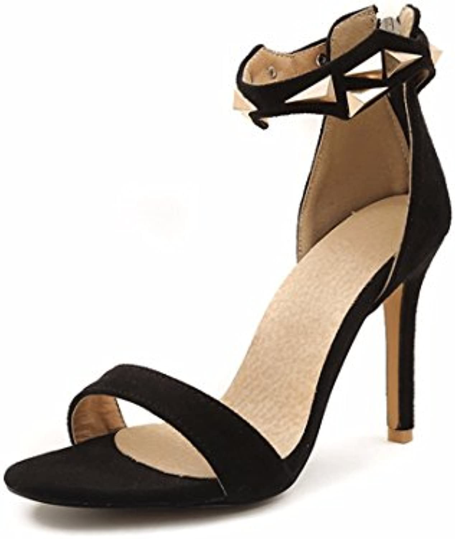mesdames les sandales, les orneHommes noir, ts, talons hauts, sandales, de grandes sandales, noir, orneHommes trente neuf b07f 69wv85 p arent f668a3