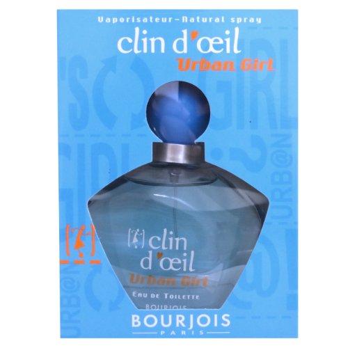 Bourjois Clin D'Oeil Urban Girl Eau de Toilette en flacon Vaporisateur 75 ml
