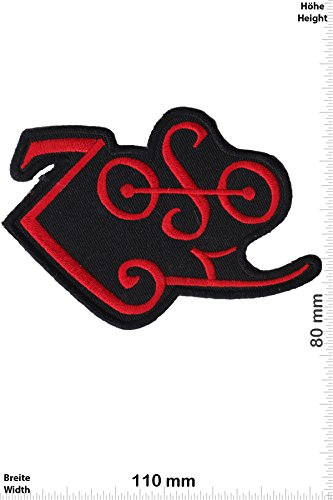Parches   Zoso   Led Zeppelin   Red   Música  Led