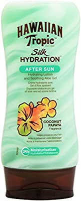 Hawaiian Tropic - Silk Hydration - Loción hidratante para después del sol - 180 ml