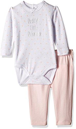 Fox Baby Girls' Clothing Set (871707380018_Pastal Pink_18)