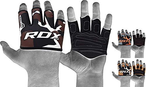 RDX Gym Gewichtheben Griffe Krafttraining Griffpolster Griffpads Klimmzüge, Fitness, Bodybuilding & Krafttraining, Trainings Pads (MEHRWEG)