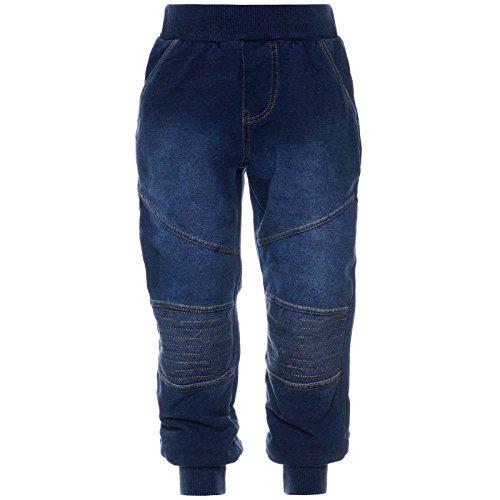 Jeggings Freizeit-Hose Stoff-Hose Jeans-Optik Harem Baggy Jungen Hosen 21794, Größe:152
