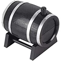 Fanyong Portable Automatic Wine Barrel Shaped Toothpick Holder Plastic Box Container