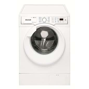 Brandt BWW384T Autonome Charge avant A Blanc machine à laver avec sèche linge - machines à laver avec sèche linge (Charge avant, Autonome, Blanc, Gauche, boutons, Rotatif, LED)