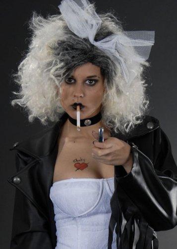 ky Kostüm Perücke (Braut Von Chucky Halloween-outfit)