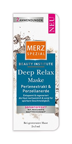 Merz Spezial Beauty Institute Deep Relax Maske, 10er Pack (10 x 10 ml)