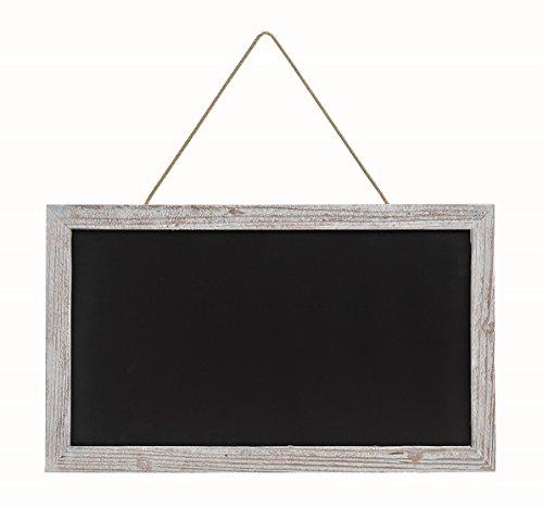 Große Kreidetafel Memotafel zur Beschriftung 63 x 38 cm Küchentafel Holzrahmen Tafel zum Hängen Wandtafel