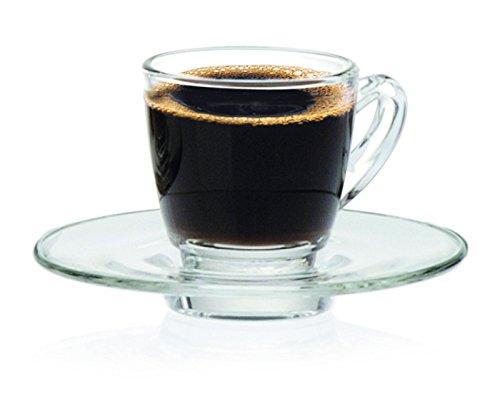 treues g1p01672Kenia Espresso Untertasse, 10,8cm (Pack von 6) (Kenia Becher)