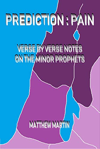 Prediction: Pain & Promise: verse by verse notes on the Minor