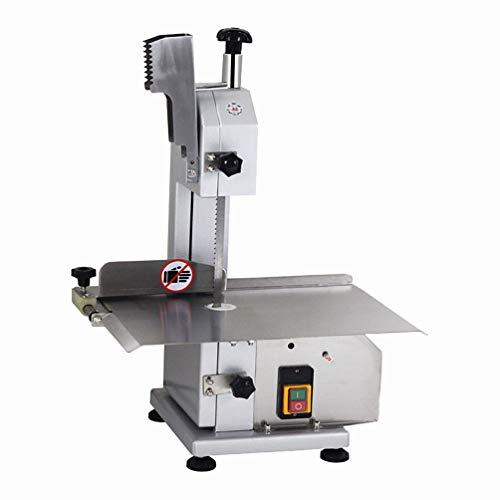Huanyu Kommerziellen Elektrische Fleischbandsäge Knochensägemaschine Edelstahl Slicer Fleisch Schneiden Metzger (110 V) Band Slicer