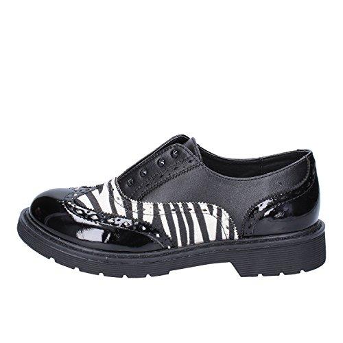 Enrico Coveri Elegante Schuhe Baby Mädchen Leder schwarz 37 EU