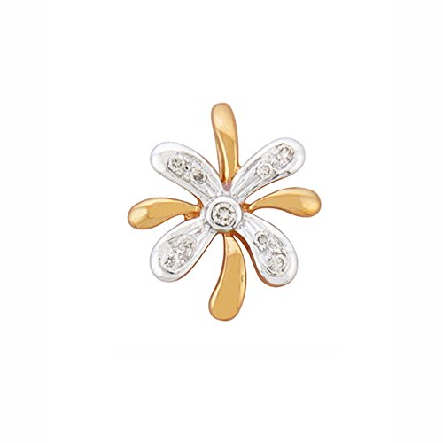 Or Jaune 9 ct Pendentifs Diamant , 0.05 Ct Diamant, GH-SI, 0.91 grammes.