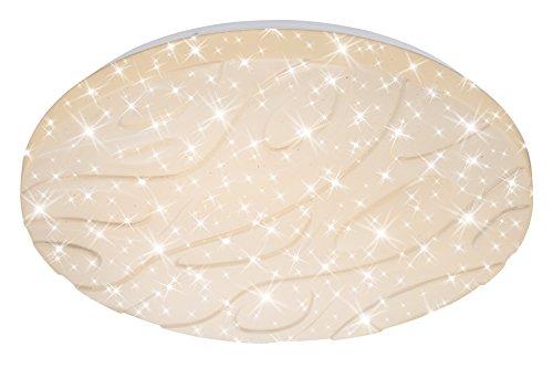 Plafoniera Con Luce Notturna : Briloner leuchten lampada da soffitto a led con motivo onde