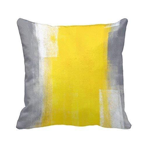 HOTNING Zierkissenbezüge, Throw Pillow Covers, Throw Pillow case, Cap Plankey Home Decor Pillow Covers Home Yellow Sofa Pillow Case Cover - West Elm-home Decor