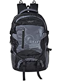 F Gear Orion Polyester 46 Ltrs Grey,Black Trekking Backpack (2556)