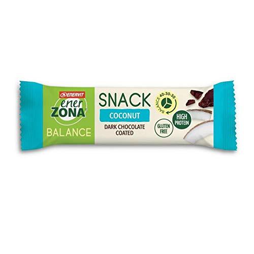 Enerzona balance 40 30 30 box 30 x 33 gr gusto coconut dark chocolate