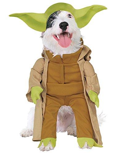 Disney Star Wars Yoda Hunde Fasching Halloween Karneval Kostüm Large (Yoda Hund Halloween Kostüm Star Wars)