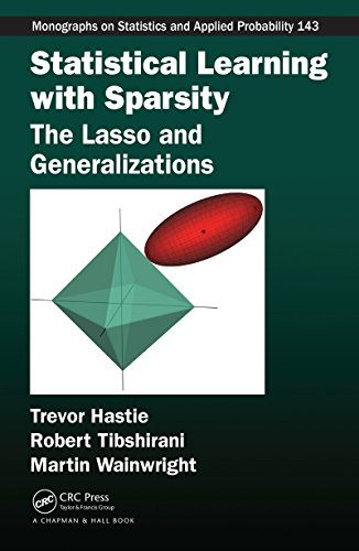 Book's Cover of Statistical Learning with Sparsity The Lasso and Generalizations