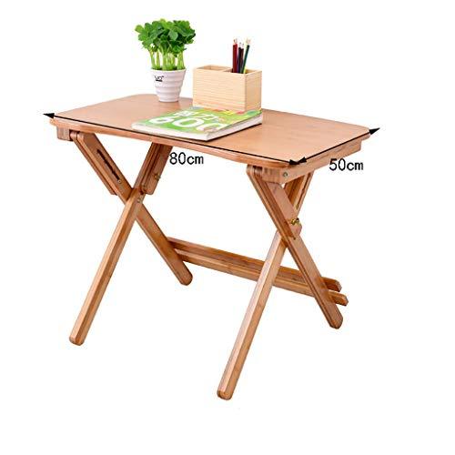 Sursam Kindertisch oder Stühle Kinderschreibtisch höhenverstellbar Studientisch Klapptisch Student Schreibtisch Laptoptisch, 50cm*80cm